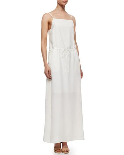 Ralene Sleeveless Drawstring Dress