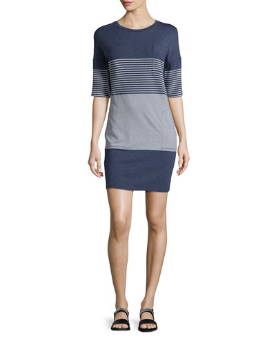 Pelloa Multi-Stripe Knit Dress