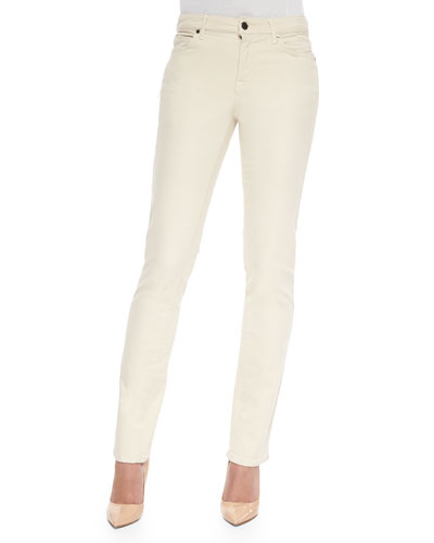Faith Straight-Leg Denim Jeans