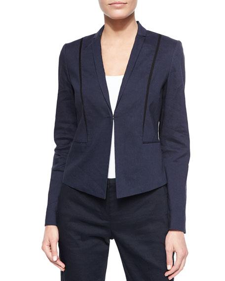 Elie Tahari Heidi Stretch Linen Jacket