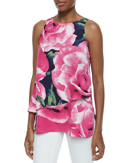 Cooper & Ella Reagan Bold Floral-Print Top