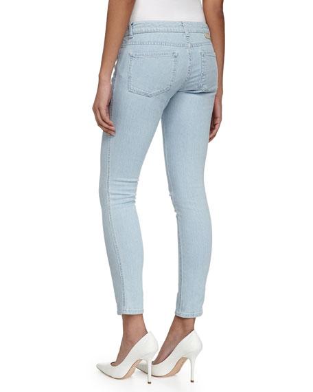 Light Denim Skinny Ankle Grazer Jeans