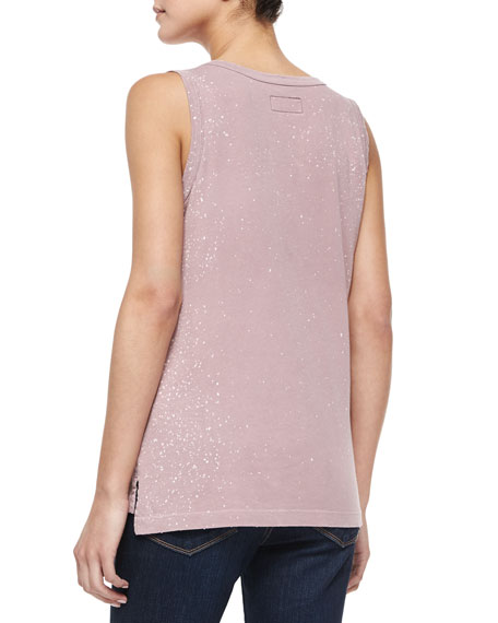 The Muscle Tee, Faded Mauve Galaxy