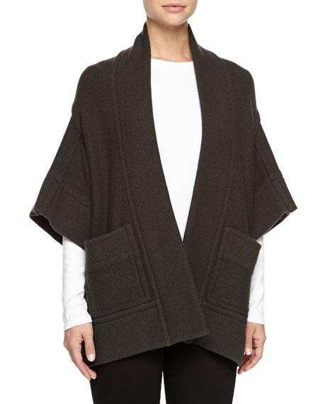 Stella McCartney Kimono-Sleeve Open Jacket