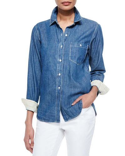 Max Boyfriend Long-Sleeve Shirt