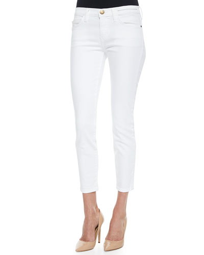 The Stiletto Cropped Skinny Jeans, Sugar