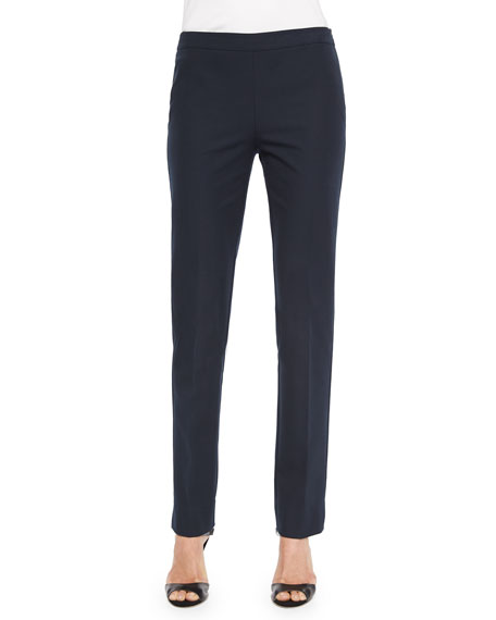 Lafayette 148 New York Bleecker Jodhpur-Cloth Pants, Ink