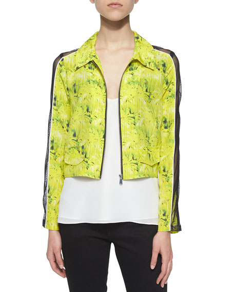 Andrew Marc Miami Camo-Print Jacket