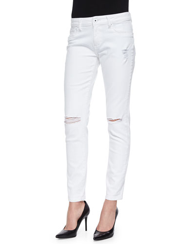 Azalea Relaxed Distressed Skinny Jeans