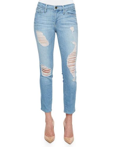 Le Skinny Cropped Jeans, Georgiana