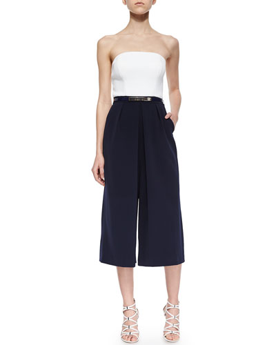 Haylyn Strapless Culotte Jumpsuit
