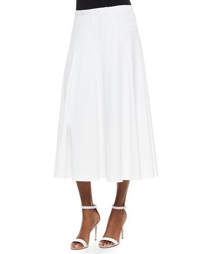 Seamed Midi Skirt, Petite