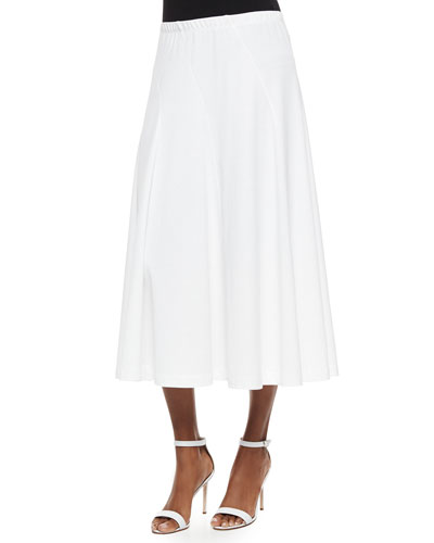 Seamed Midi Skirt, Women