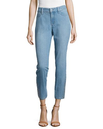 Amira Narrow Ankle Jeans, Vernon