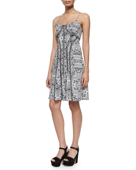 Nanette Lepore Sleeveless Truth or Flare Dress