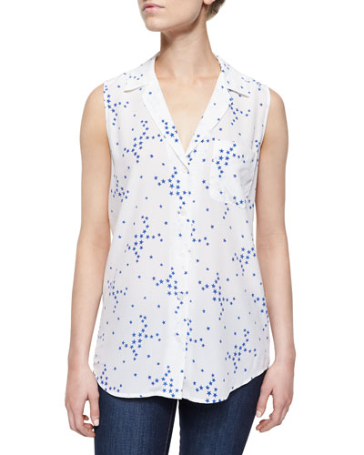 Keira Star Cluster Sleeveless Blouse