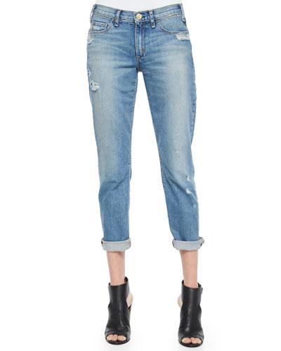 Mrs. Robinson Distressed Boyfriend Jeans, Vintage Series 1