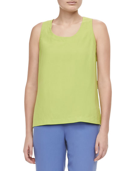 Go Silk Colorblocked Shirt, Contrast Tank & Solid