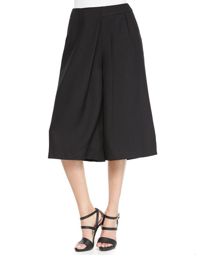 Lady Killer Culotte Pants, Black