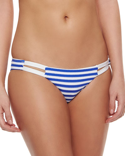 Neutra Hipster Swim Bottom, Paros Stripe