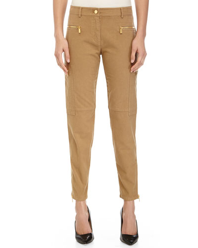 Skinny Cargo Pants, Fawn