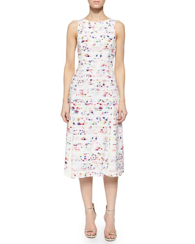 Vivana Sleeveless Floral-Print Dress