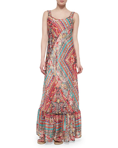 Journey Printed Maxi Dress