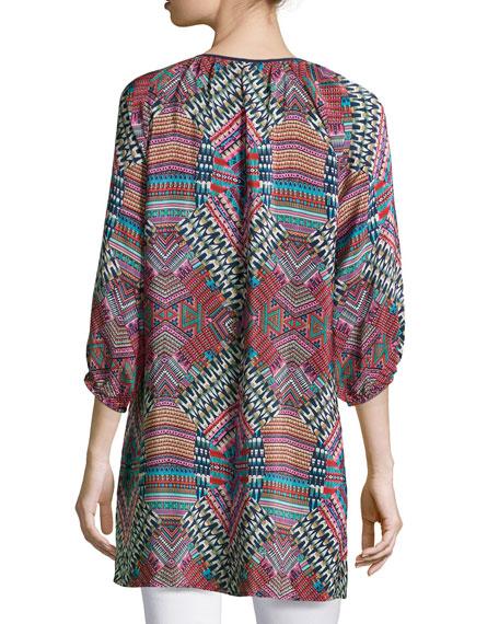Jenny Geometric Printed Tunic, Women's