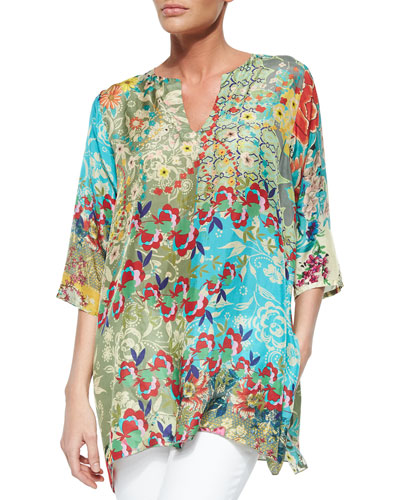 Domoto Printed Tunic, Women