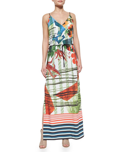 Modern Nomad Printed Maxi Dress