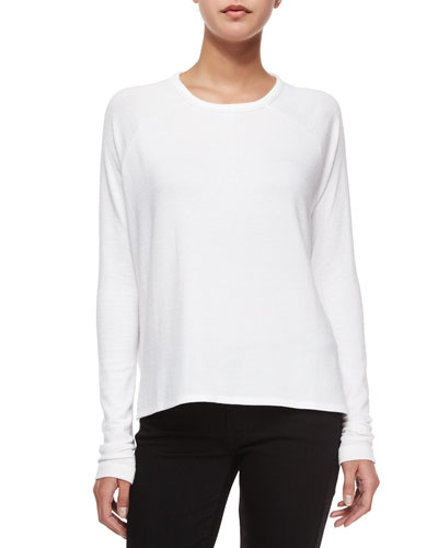 rag & bone/JEAN Camden Long-Sleeve Raglan Tee, Bright