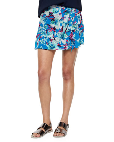 Rainforest Short Ruffled Skort