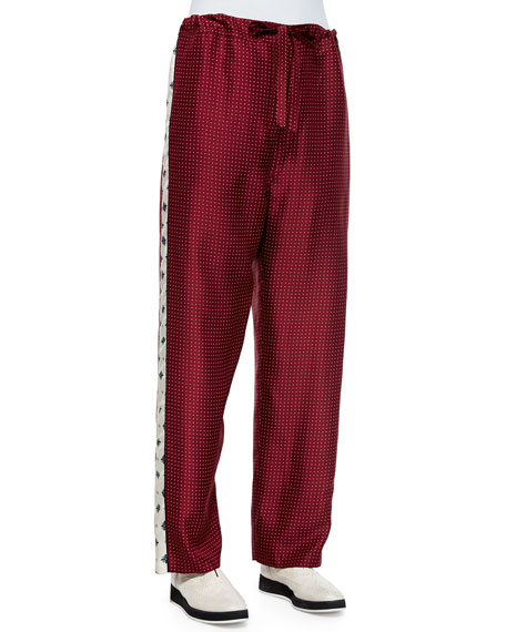 Rag & Bone Rudy Drawstring Printed Pants
