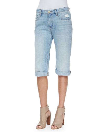 Le Vintage Bermuda Denim Shorts, Parkside