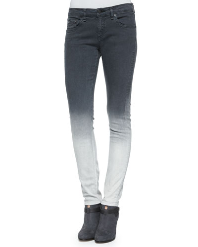 Dre Skinny Jeans, Charcoal Ombre