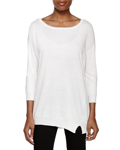 Dolman Sleeve Sweater, Chalk