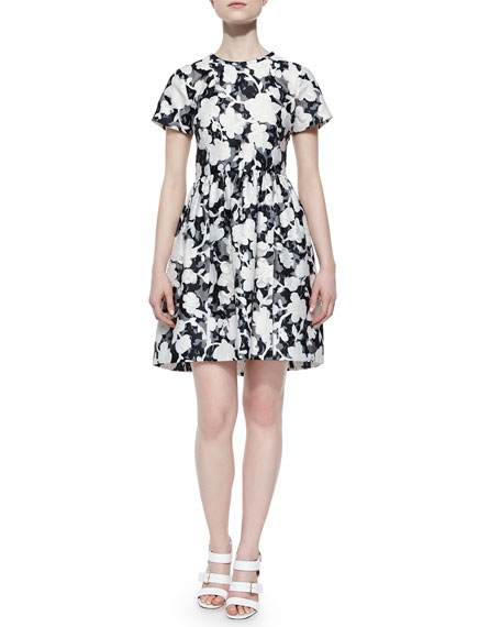 kate spade new york short-sleeve floral & lace
