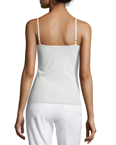 Jersey Camisole W/ Adjustable Straps, Plus Size