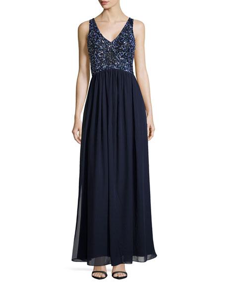 Beaded Bodice Gown, Twilight