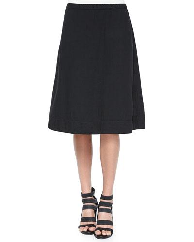 Organic Cotton A-line Skirt