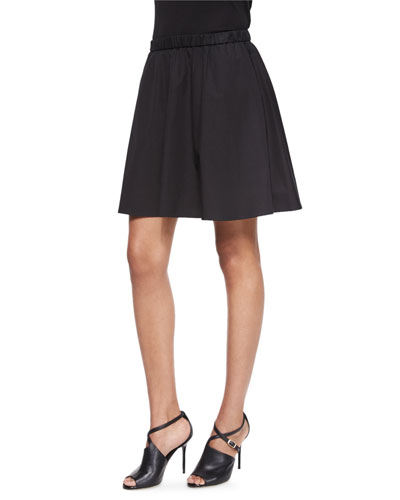 Fisher Project Flared Short Skirt