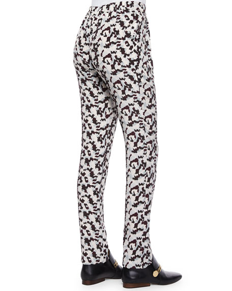 Printed Track Trousers