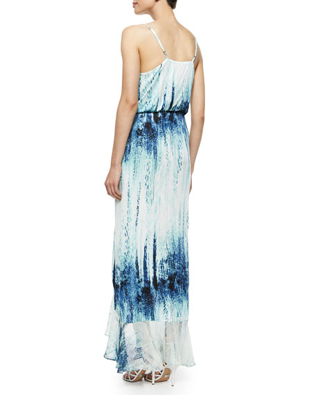 Halle Watercolor Maxi Dress, Ripa