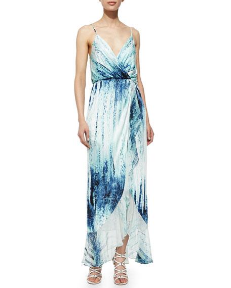 Halle Watercolor Maxi Dress, Ripa
