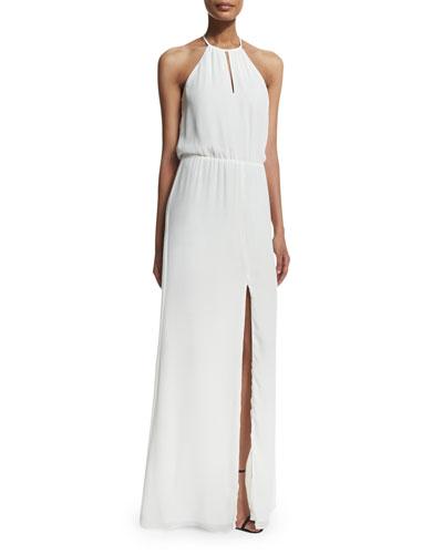 Ashford Chiffon Maxi Dress, White