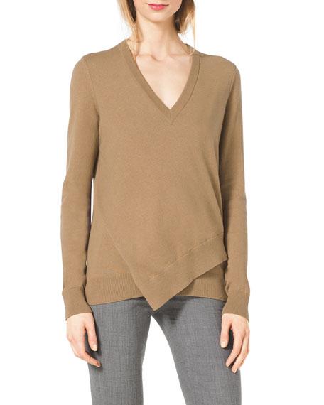 Layered Asymmetric Sweater