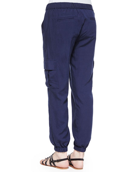 Markell Cargo-Pocket Jogger Pants