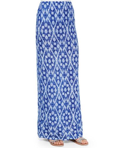 Loni Printed Maxi Skirt