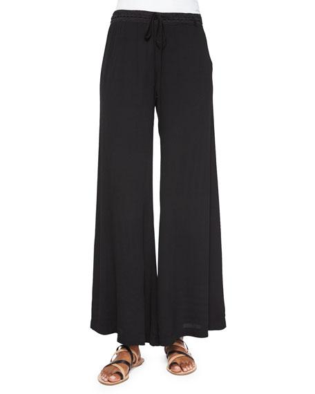 XCVI Windy Ghost Wide-Leg Pants, Plus Size
