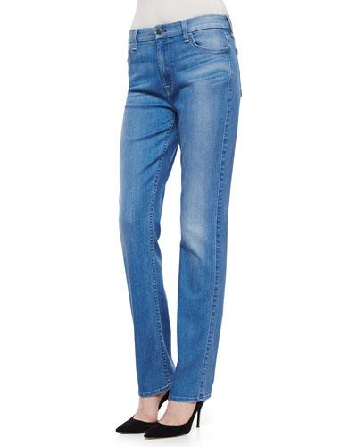 Wainscott Slim Straight-Leg Jeans